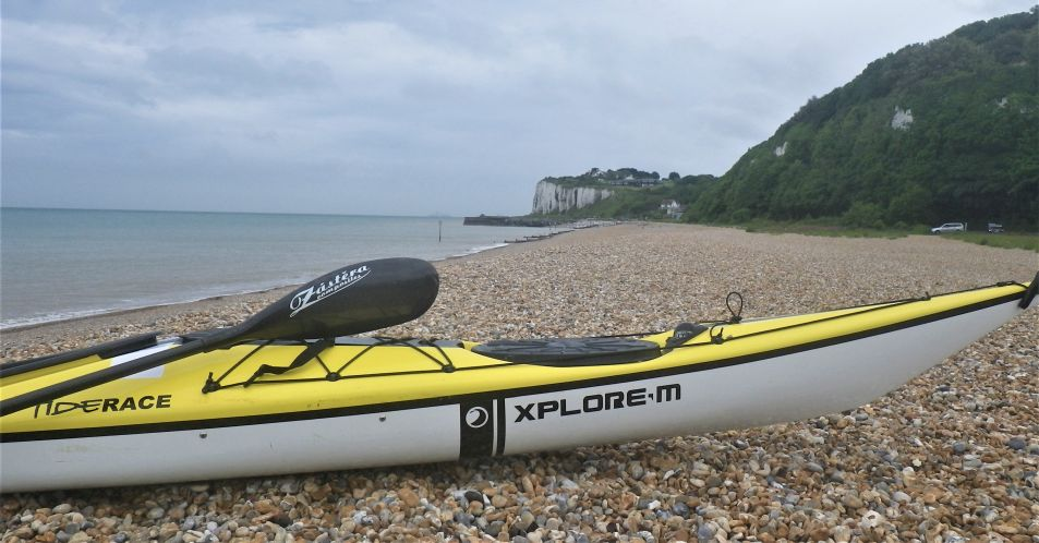 Sea kayak expedition day 4 – Help from new friends