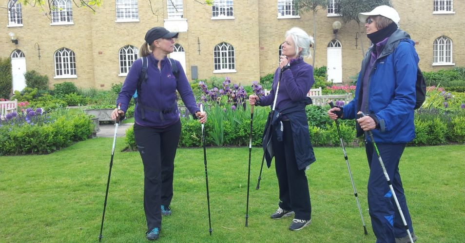 Nordic Walking 8.45 am