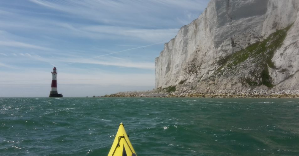 Sea kayak expedition day 10 – Beachy head and the Seven Sisters
